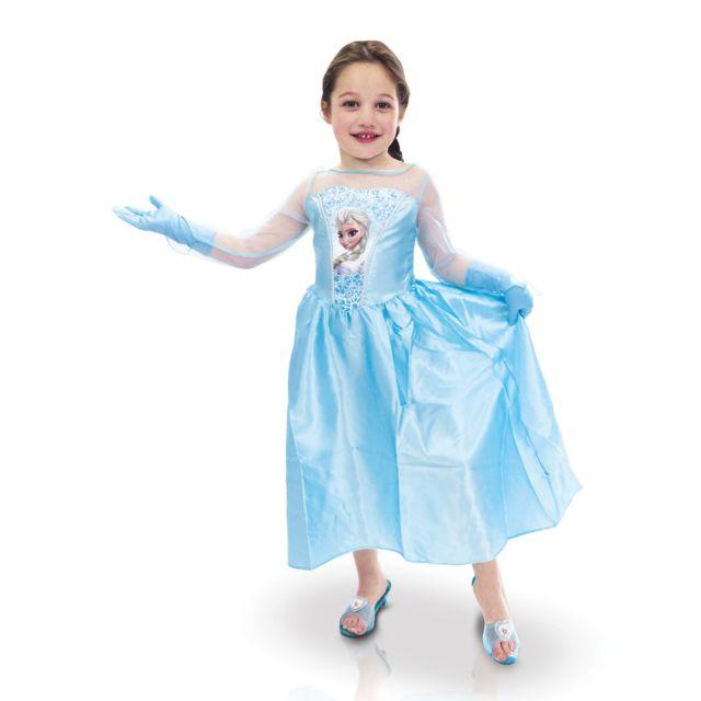 Sans - Coffret Déguisement Elsa + accessoires - La Reine des neiges - taille  - 5 6f750735fa71
