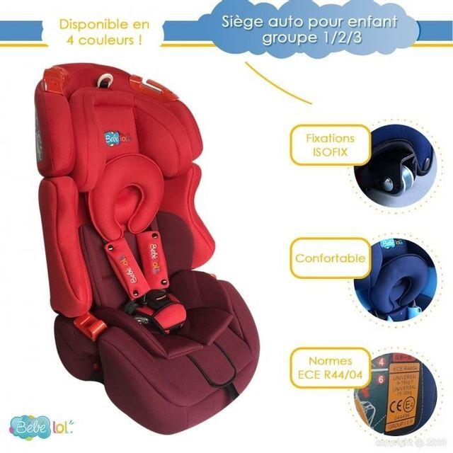 bebe lol si ge auto volutif isofix b b lol pour enfant. Black Bedroom Furniture Sets. Home Design Ideas