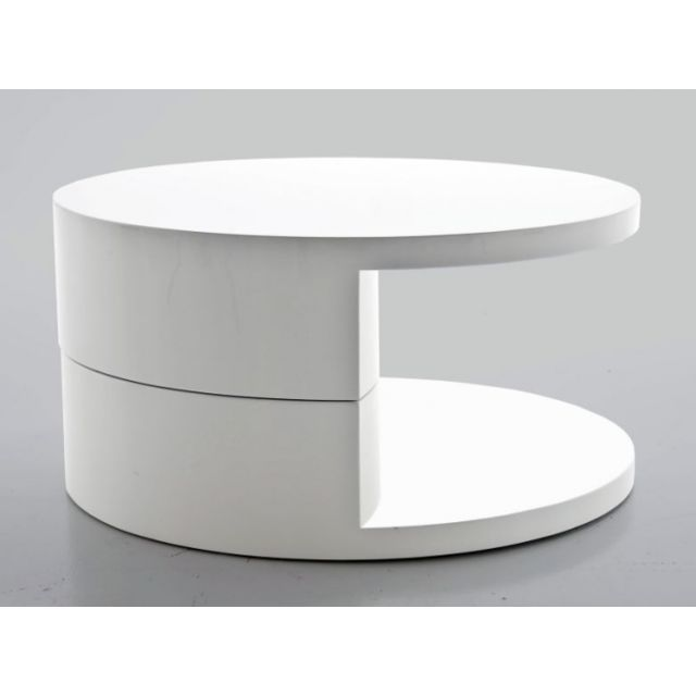 Giovanni Table basse Kerby Blanc
