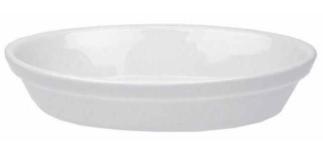 Lebrun Plat a gratin 19 X 12 cm Porcelaine