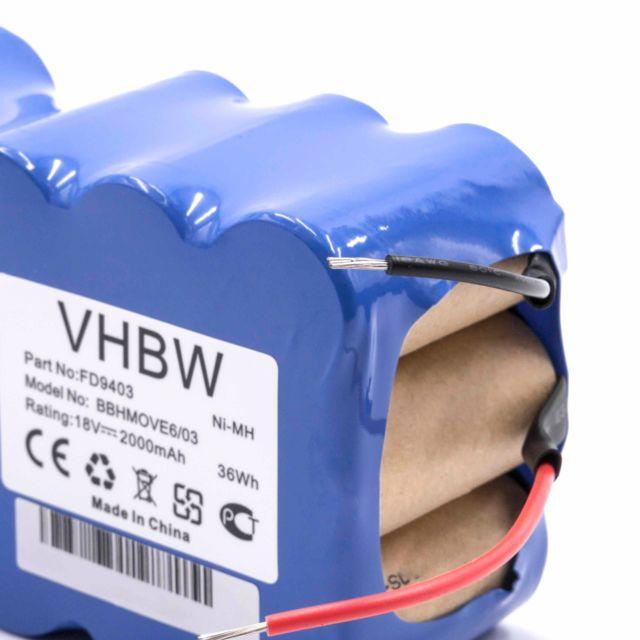 BATTERIE aspirateur 14.4V 3300mAh pour Vileda M-488a Cleaning Robot