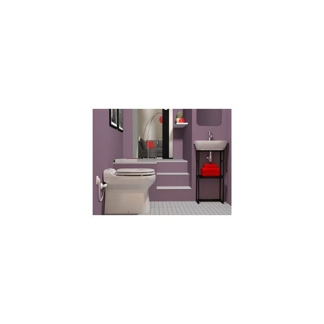 sfa toilette sanibroyeur sanicompact elite pas cher. Black Bedroom Furniture Sets. Home Design Ideas