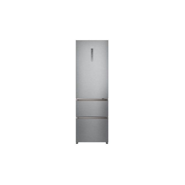 haier hrf 370g6 refrigerateur congelateur bas 330 l 233 l 97 l total no frost a l59. Black Bedroom Furniture Sets. Home Design Ideas