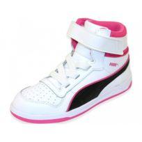 Puma Liza Mid Fur V Kids, Baskets Hautes Fille