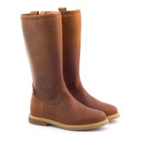 Boni Classic - Boni Cristobal - bottes fille en cuir marron