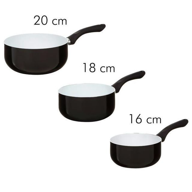 Finlandek - Cuisine - Finlandek 3 casseroles Sipuli tous feux dont induction