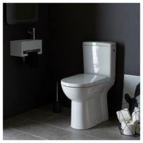 wc faible profondeur achat wc faible profondeur pas cher rue du commerce. Black Bedroom Furniture Sets. Home Design Ideas