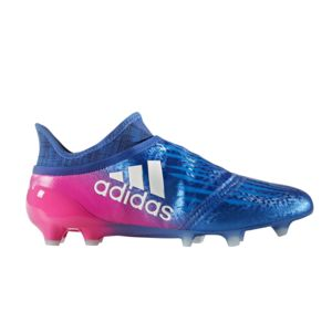 Adidas performance - Chaussures football Adidas X 16+ Purechaos Fg Bleu/rose