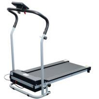 HOMCOM - Tapis roulant de course electrique fitness argent-noir 98