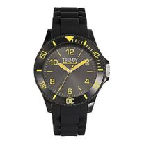 Trendyjunior - Montre Trendy Junior garçon noir et jaune - Kl281 - Promo