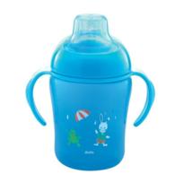 Dodie - Tasse d'Aprentissage 300 ml 12 Mois et + - Couleurs : Bleu