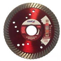 WellCut - Disque Profi Diamant Turbo - Taille - Ø 115 x 22.23mm