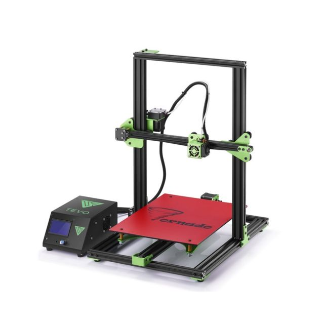 Auto-hightech Imprimante 3D - Kit de bricolage, large gamme de filaments, grande taille du bâtiment, écran Lcd, impression hors ligne