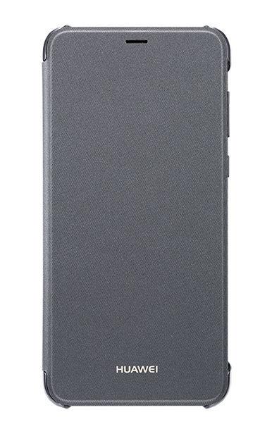 Flip View Cover P Smart - Noir