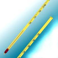 Alla - Thermomètre à piquer 25,5 cm en verre 30 à 100°C