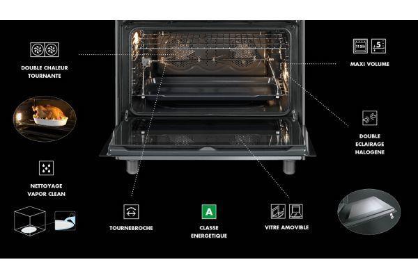 SMEG - Piano de cuisson SCB91MFX9