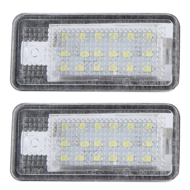 Marque generique 2pcs lampe d 39 clairage de plaque d - Immatriculation chambre de commerce ...