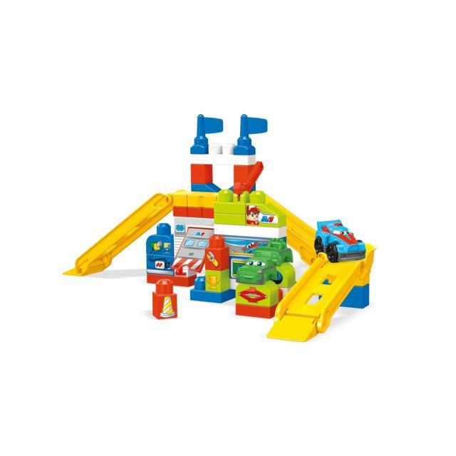 MEGABLOKS Briques de Construction - Mon Stand de Course - FVJ02