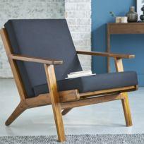 fauteuil bois - Fauteuil En Bois