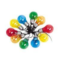 Lumisky - Guirlande extérieure 10 Led longueur 8,3m Fantasy - Multicolore