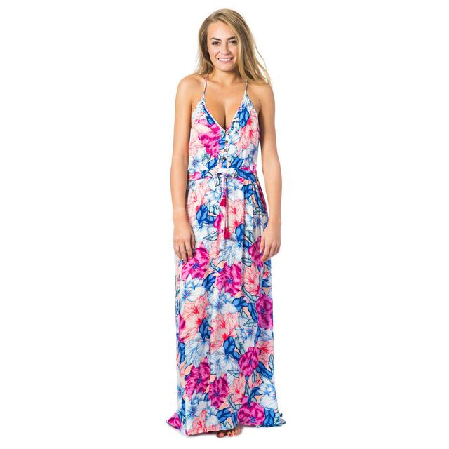 addb7ae0263 Rip Curl - Robe de plage rose Pivoine Bloom - pas cher Achat   Vente ...