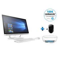 Pavilion 27-a102nf - Blanc + Wireless Mouse X3000 + Deskjet 3637