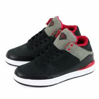 Diamond - Sneakers Homme Marquise Black/Red Nubuck