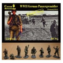 Caesar Miniatures - Figurines 2ème Guerre Mondiale : Panzergrenadiers allemands Normandie 1944