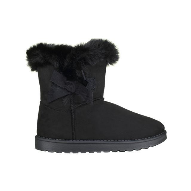 Doremi F 15 Black pas cher Achat Vente Boots, bottines