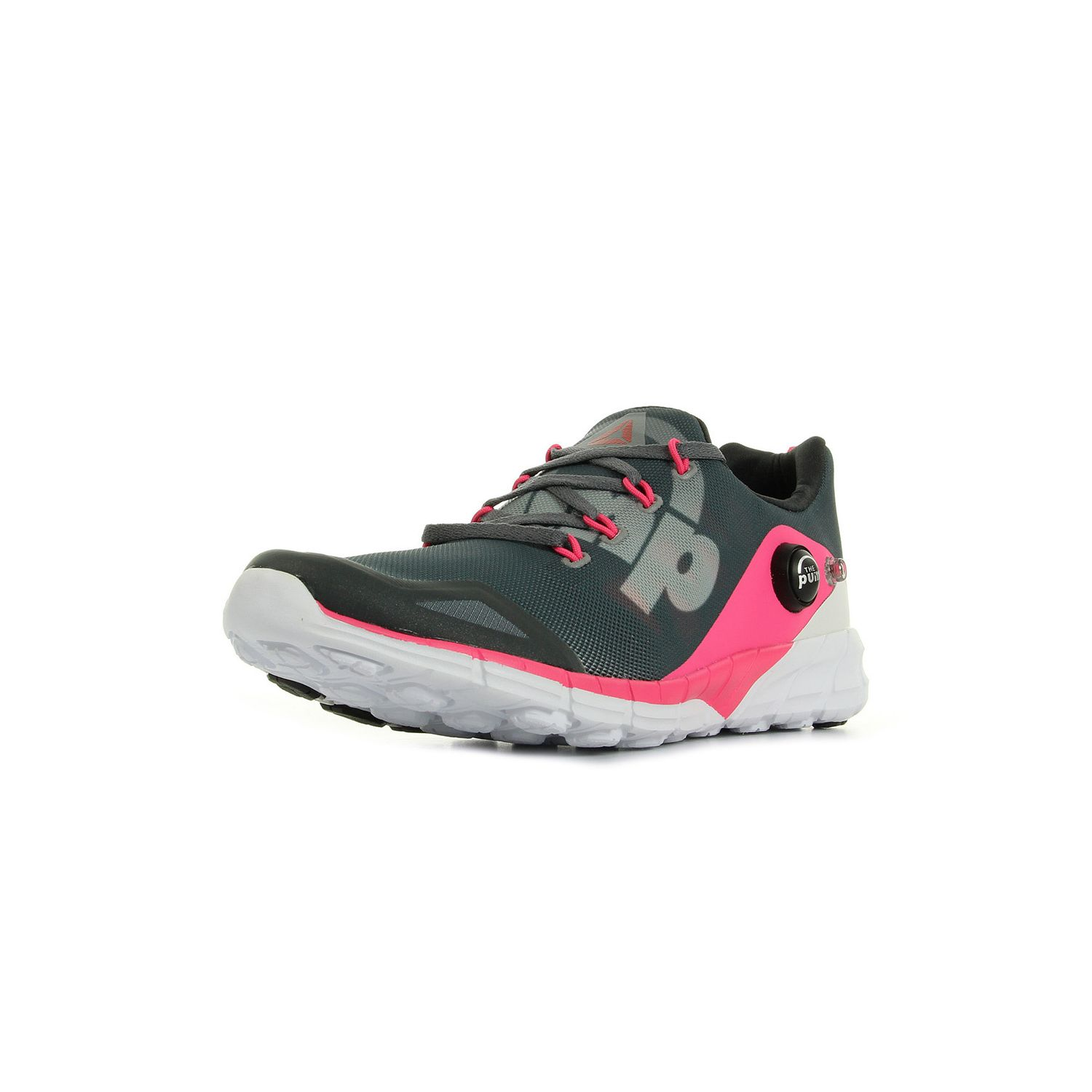 buy online 08554 a484b Reebok - Zpump Fusion 2.0 Gris Rose Blanc - Chaussures pas cher Achat Vente  Chaussures - running 78dd00
