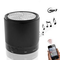 Yonis - Mini enceinte Bluetooth iPhone 5 4S 4 3 iPod iPad universelle