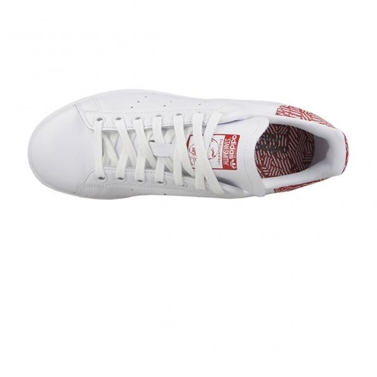 Adidas originals - Chaussures Stan Smith Red Print White/Red W h16
