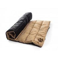 Zamibo - Matelas enroulable pour chien 90 x 60 cm Beige