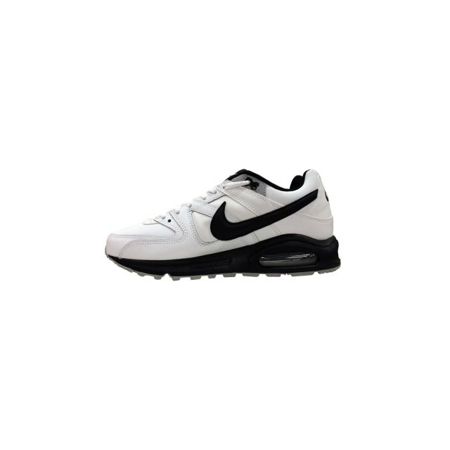 Nike Basket Air Max Command Leather Blanc 749760 101 pas