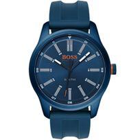 Bossorange - Montre Boss Orange Dublin en Silicone Bleu