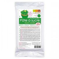 Scrapcooking - Pâte à sucre verte arôme vanille - 250 g