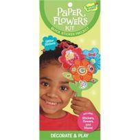 Peaceable Kingdom Press - Peaceable Kingdom/RAPIDE De Fleurs En Papier Autocollant
