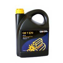 Topcar - Bidon 5 litres d'huile moteur Q8 T 670 5W40