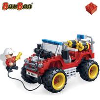 Rocambolesk - Superbe Jeep de pompier BanBao 7106 neuf
