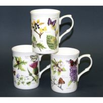Just Mugs - Lot de 6 mugs Buxton Natures Woodland