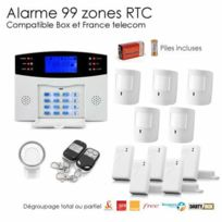 SecuriteGOODdeal - Alarme Animal sans fil de 99 zones Xxl