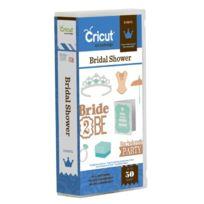 Cricut - 2001291 Cartouche Pour Machine À Scrapbooking Type Event Bridal Shower 22,8 X 12,4 X 3,81 Cm