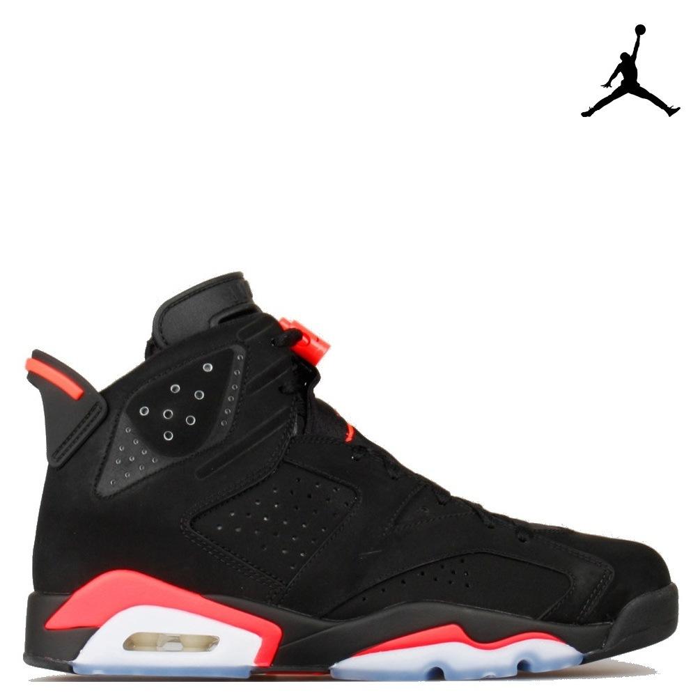 Nike Air 6 Retro Black Infrared 384664-023-infrared, 6, noir black infrared, air