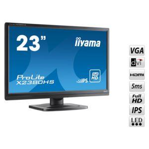 Iiyama x2380hs b1 23 pas cher achat vente moniteur for Ecran moniteur pc