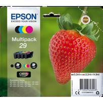 "EPSON - Multipack Cartouches d'encre ""Fraise"" Claria Home - 4 couleurs"