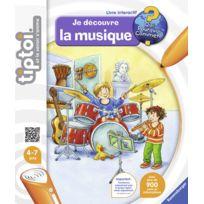 RAVENSBURGER - Tiptoi Livre Je découvre la musique - 00605