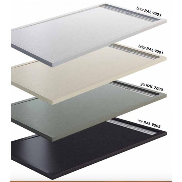degeo receveur de douche extra plat beige 180x90 pas. Black Bedroom Furniture Sets. Home Design Ideas