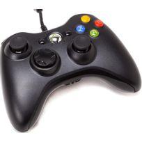MICROSOFT - Manette de jeu filaire Xbox 360 - Noir