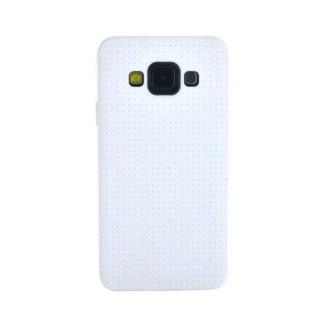 Bbc - Coque en silicone blanche micro perforée pour Samsung Galaxy A3