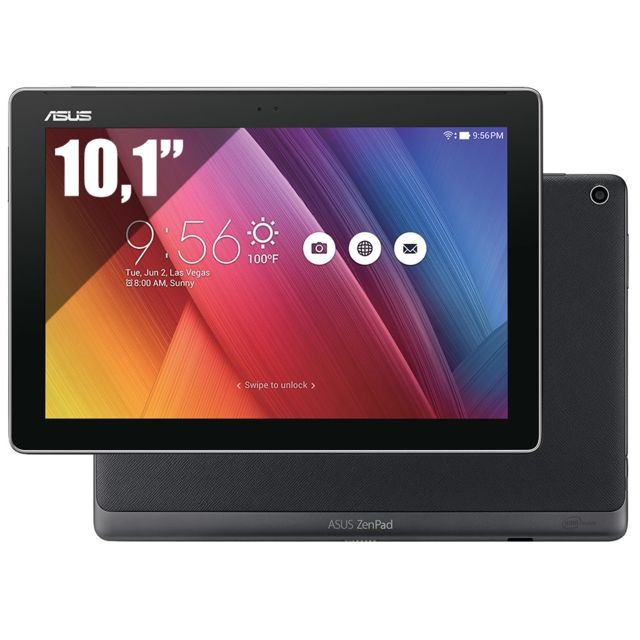 ASUS - ZenPad 10 - WiFi - Noir